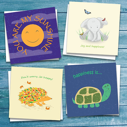Bundle of Happiness 8 pack of cards