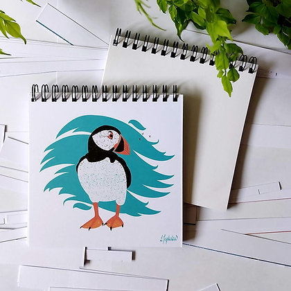 Puffin notepad