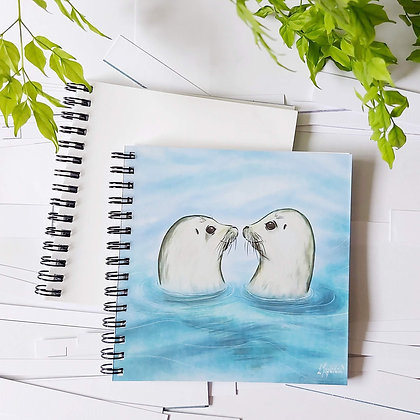 Just a couple of seals notepad
