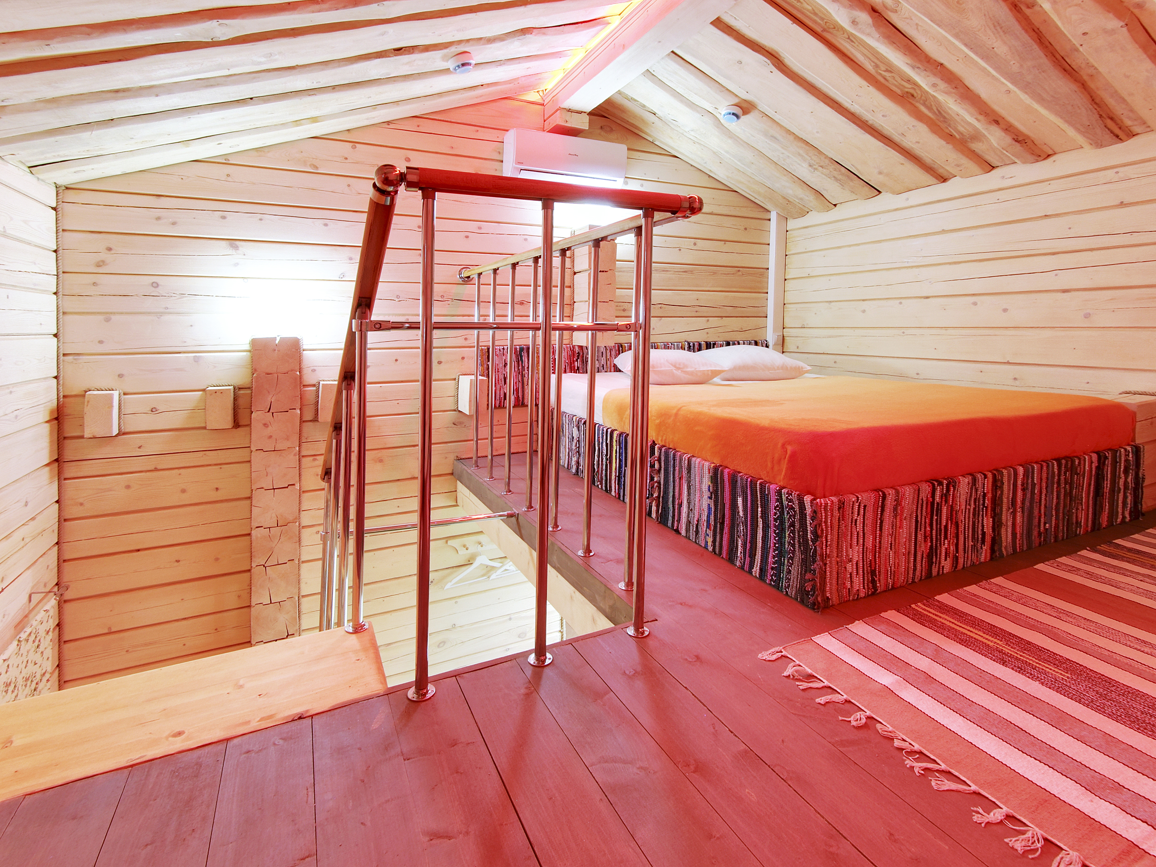 Уютная кроватка