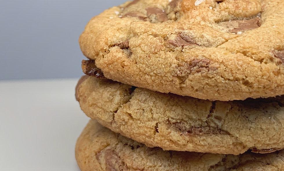 Brown Butter Belgian Chocolate Cookies