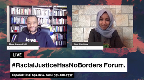 Rep. Ilhan Omar discusses racial justice