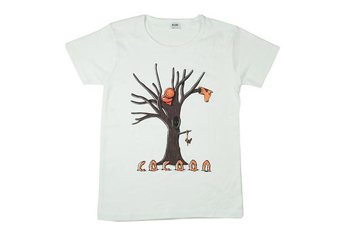copie de T-shirt COCOON White Femme