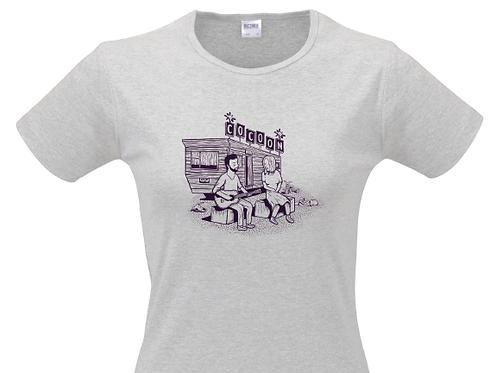T-shirt COCOON Grey Femme