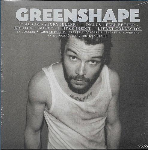 "GREENSHAPE ""Storyteller"" (CD collector)"