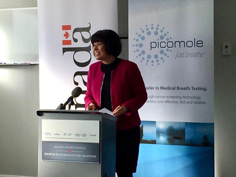 Ginette Petitpas ACOA Press Conference.j