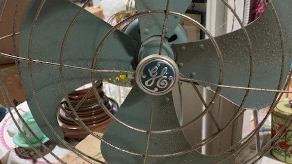 GE Vintage fan