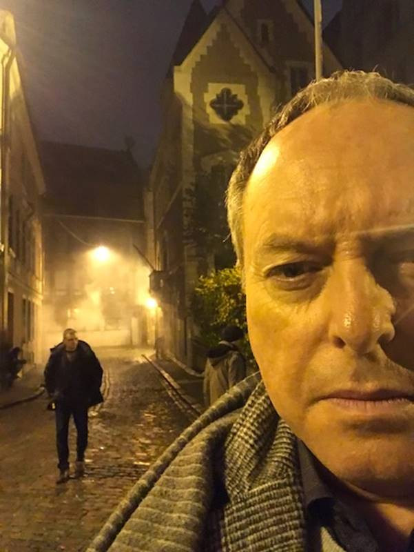Robert Daws on location of new film in Latvia
