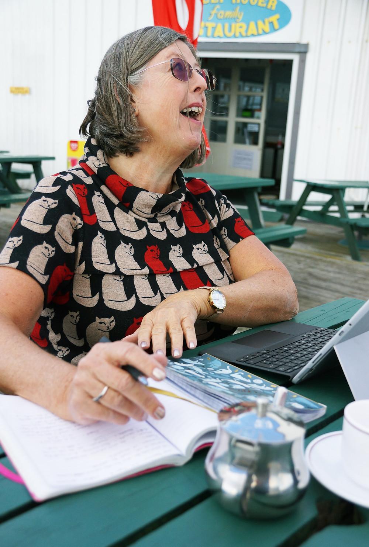 Author Wendy Turbin plans her next novel