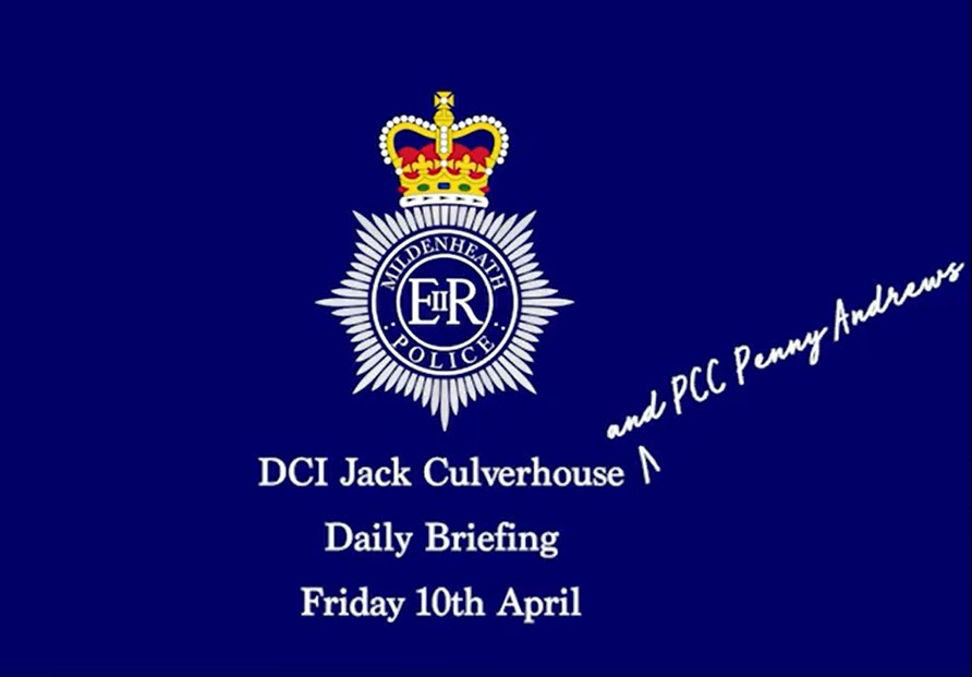 Mildenheath Police crest
