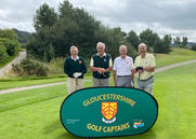 Group 3 - Ian Smith & John Phillip with Malcolm Jordain & Lew Easter