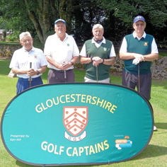 Group 7 - Clive Whitson & Bill Hole with Brett Samuel & George Cook