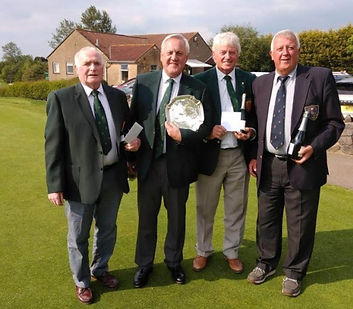 Victorious Henbury GC Captains