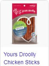 Yours Droolly Chicken Sticks