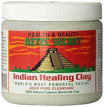 Aztec Indian healing Clay mask