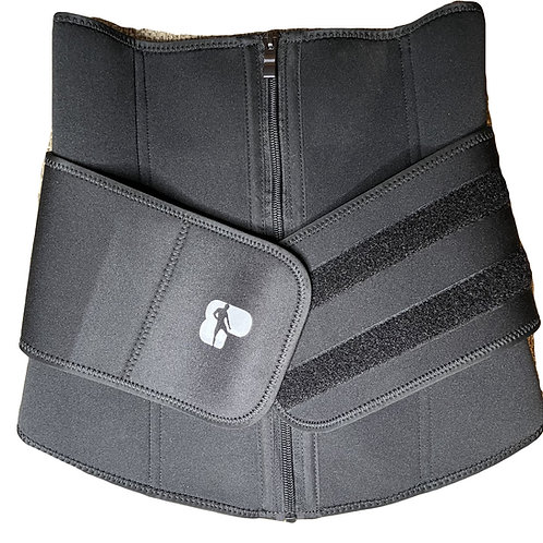 Penelope Sweat Belt w/ Zipper and Velcro Strap