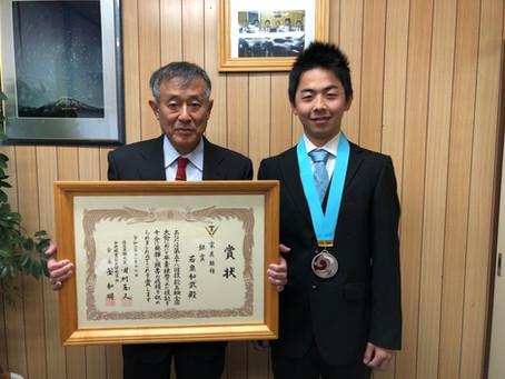 技能五輪全国大会にて、若泉和武が銀メダルを獲得しました!