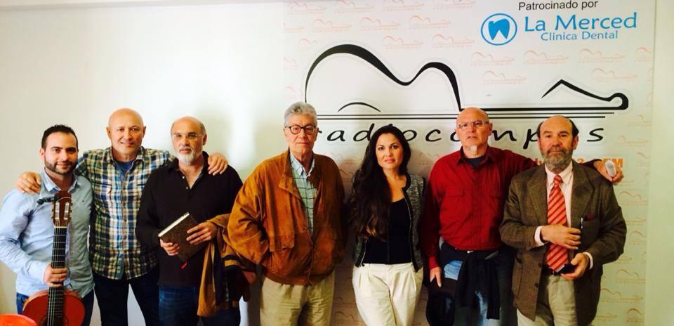 Macarena de la Torre,Pepe Roca, Antonio Ramirez y Ramón Llanes con Eduardo y Ant