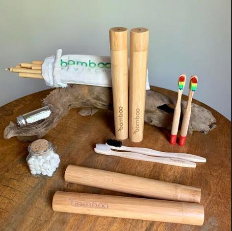 Bamboo Switch Gift Basket