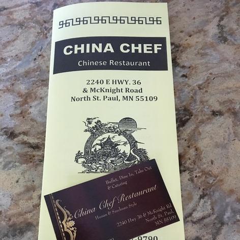 China Chef $25.00 Gift Card