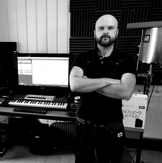 Karl Lane. Composer, Multi-Instrumentalist and Music Prodcer