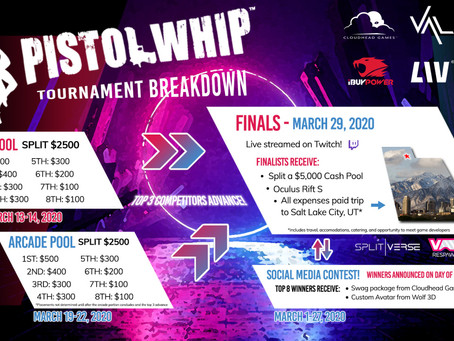 SpringboardVR-Supported Pistol Whip VR Tournament Kicks Off in March with $10K Prize Pool