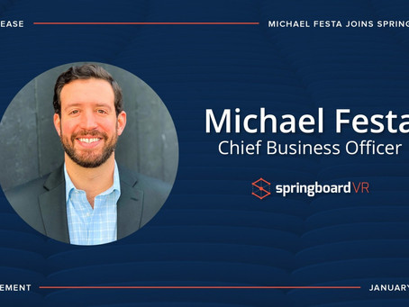 Michael Festa Joins SpringboardVR as CBO