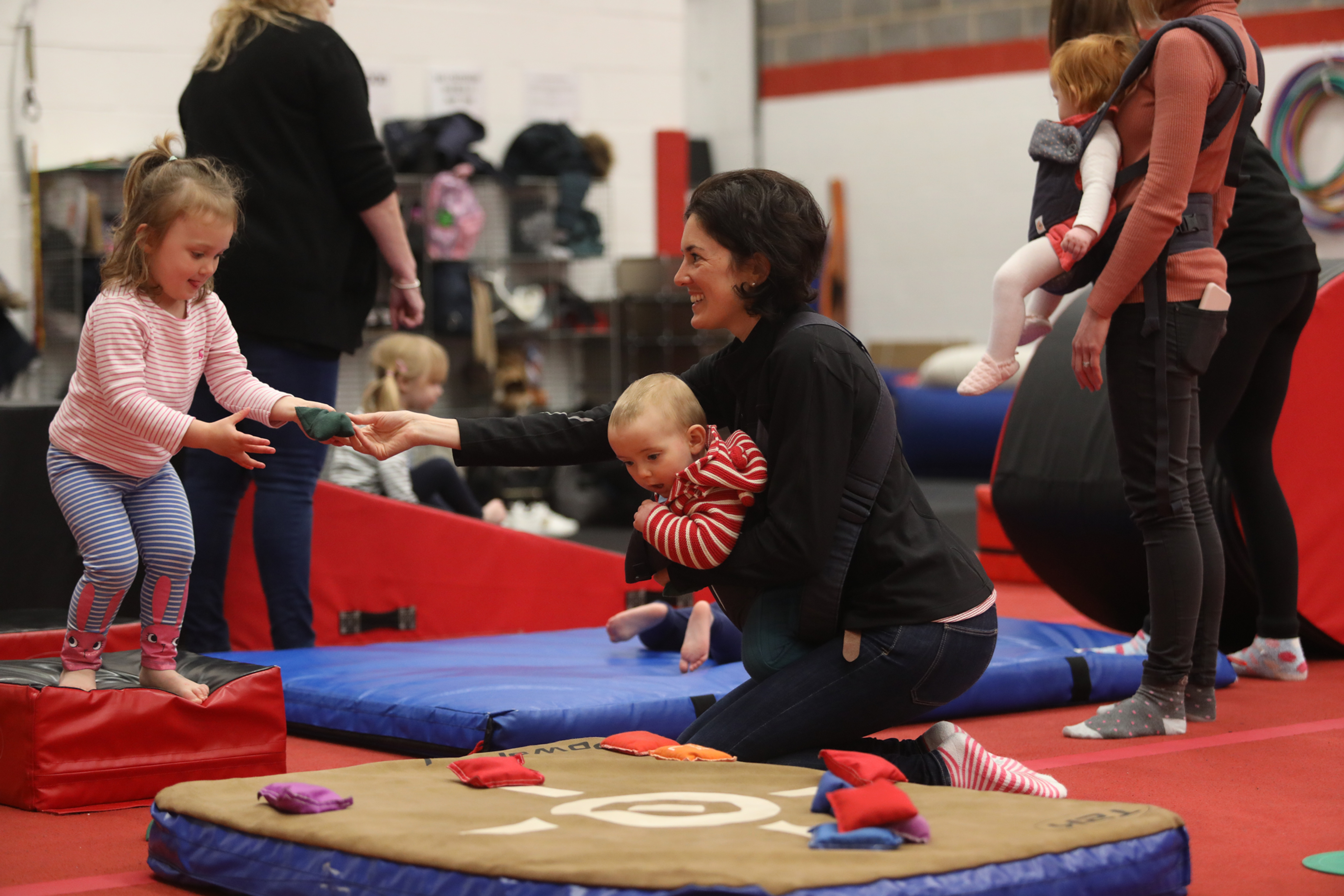 parent/toddler gymnastics Loughborough