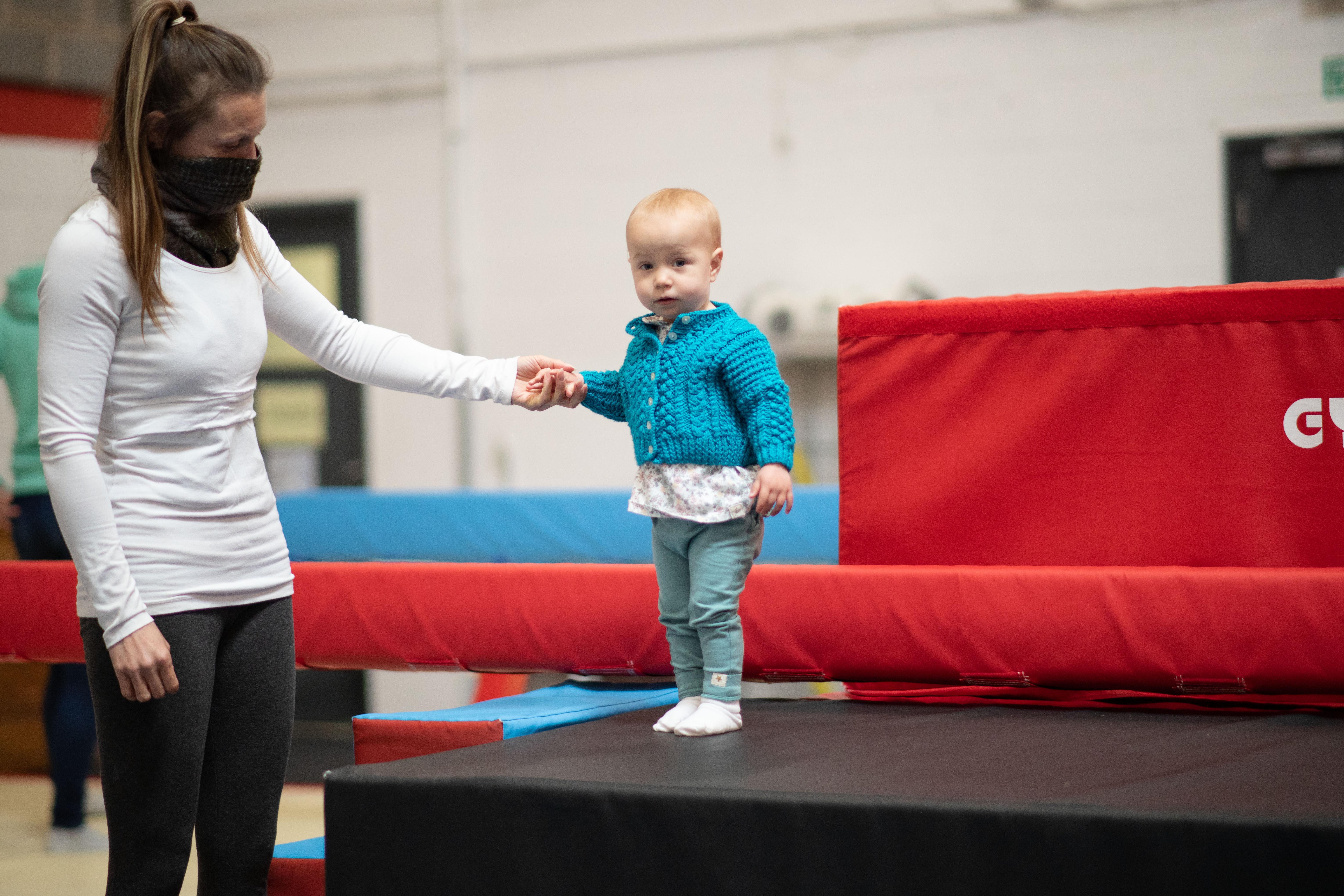 Fridays Parent/Toddler 1:00 - 1:40pm
