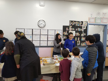 Over $1,000 Raised in a Local School Bakesale!