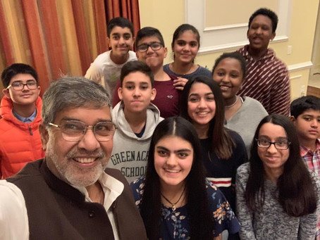Thank You Kailash Satyarthi for Inducting Our 1st Board of Directors!