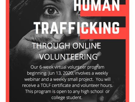 Virtual Volunteering During COVID!