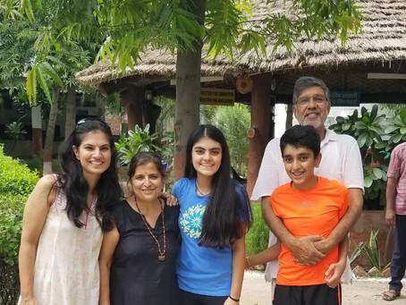 Wonderful Visit to the Mukti Ashram with Kailash Satyarthi!