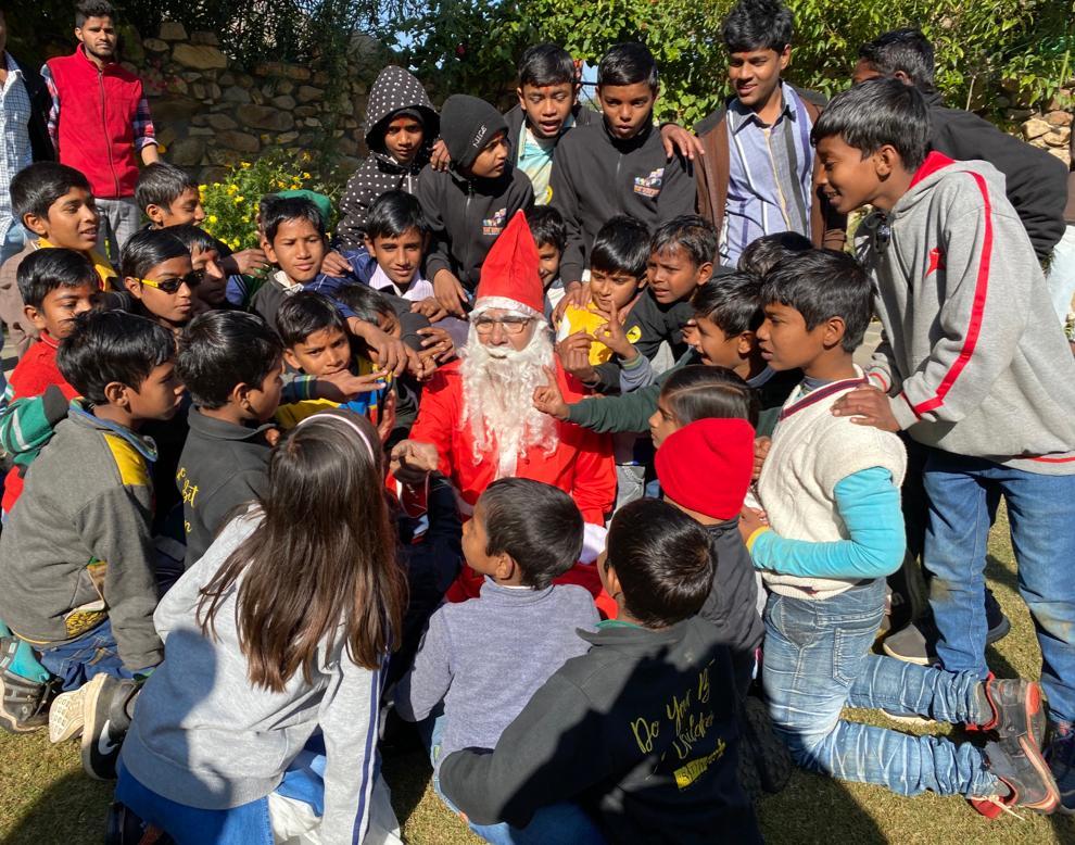 Kailash Satyarthi Santa Claus Christmas
