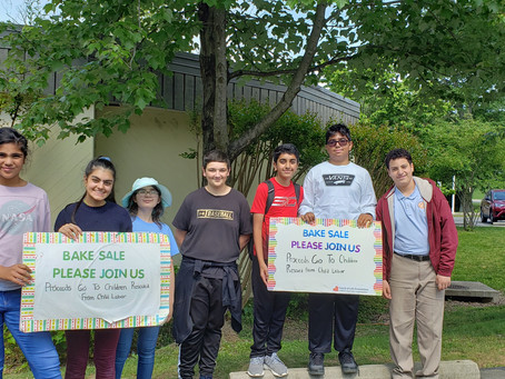 Pinnacle Academy Students Donate $1,127 by Conducting a Barbecue and Bake Sale!