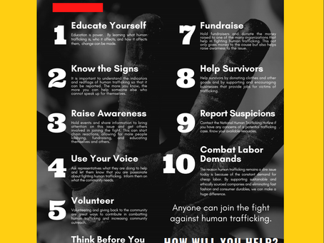 Virtual Volunteers Educate On 10 Ways To Combat Child Trafficking
