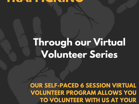 Join Our Fall Virtual Volunteer Series!