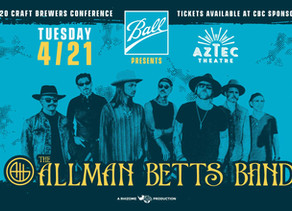 """""""Ball Presents The Allman Betts Band"""" CBC Event Cancelled"""