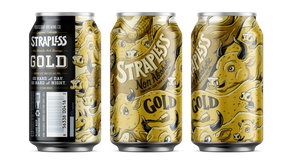 Bootstrap Brewing's Second Non-alcoholic Beer Release: Strapless Golden Ale