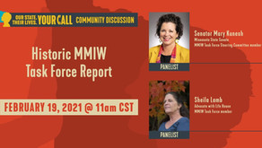Minnesota Senator Mary Kunesh & Advocate Sheila Lamb to Speak About Historic MMIW Task Force Report