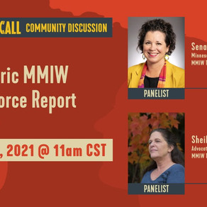 Minnesota Senator Mary Kunesh & Advocate Sheila Lamb to Speak About Historic MMIW Task Force Report
