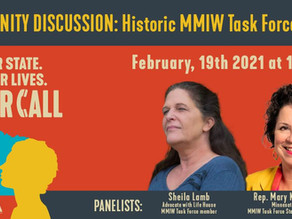 Your Call MN Community Discussion: The Historic MMIW's Task Force Report