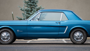 WIN This Cobalt Blue 1965 Ford Mustang from Can'd Aid