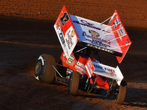 BALOG OPENS TUSCARORA 50 WEEKEND WITH A PODIUM FINISH, CLAIMS TOP TEN IN THE $54,000-TO-WIN FINALE
