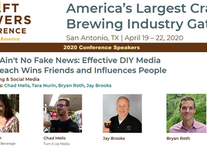 Chad Melis (TIUM Founder) to Speak at the 2020 Craft Brewers Conference