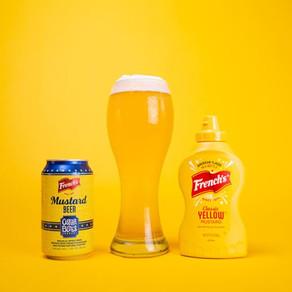 IN CELEBRATION OF NATIONAL MUSTARD DAY FRENCH'S RELEASES MUSTARD BEER IN PARTNERSHIP WITH OSKAR BLUE