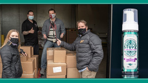 Colorado Wellness Brand Stuvz Donates 1,000 Bottles of Hand Sanitizer to Saint Vrain Valley School D