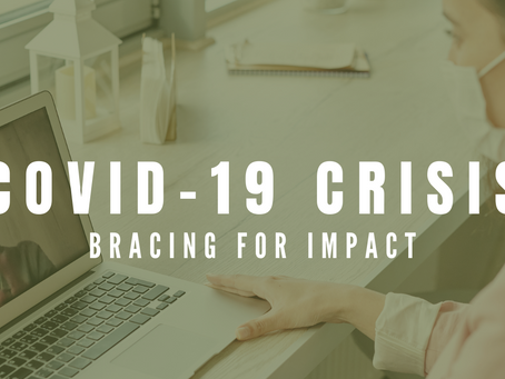 Bracing for impact: preparing the non-profit sector for the fallout from the COVID-19 pandemic