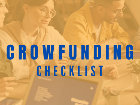 Crowdfunding checklist: What do you need to launch a successful crowdfunding campaign?