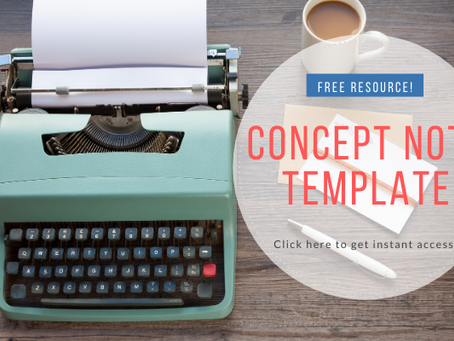 Concept note template